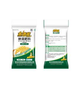 高塔硝基智控复合肥—金麦能—45%(20-20-5)—粒状—杂色—40kg
